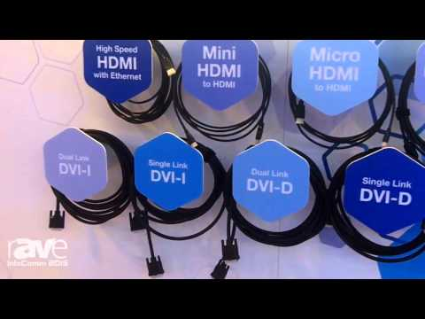 InfoComm 2015: Belden Features Its Line of Molded AV Assemblies, Including HDMI, DVI, and VGA Cables