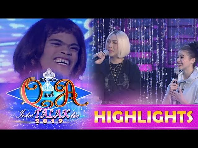 It's Showtime Miss Q & A: Vice Ganda learns that Mariposa has a girlfriend