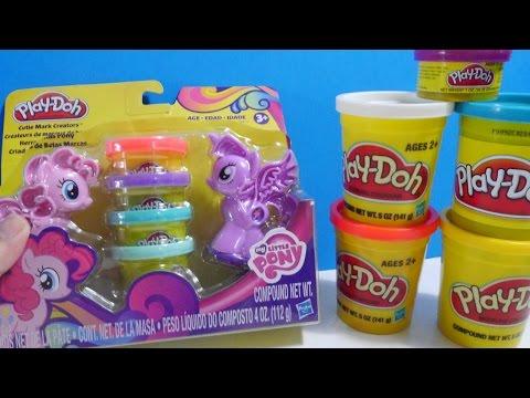 ألعاب صلصال - ألعاب بنات - ماي ليتل بوني معجون Play-Doh My Little Pony