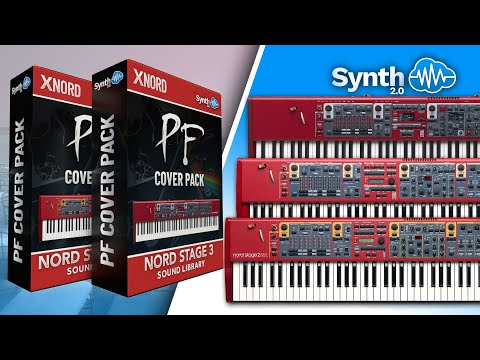 PF Cover Pack (Pink Floyd) - Sound Bank for Nord Stage 2 / 2 Ex / 3 (Synthcloud Library)