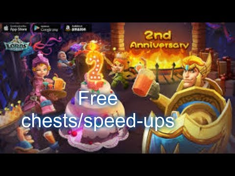 Lords Mobile - (free Stuff) 2years IGG Anniversary