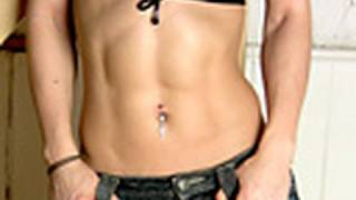 Fitness: Abs Core and Obliques Exercises: Wood Chops.