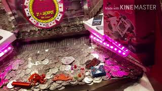 Coin pusher in arad atrium mall