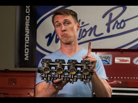 The Single Most Common Carburetor Problem (Clogged Pilot Jets) and How To Fix It | MC GARAGE