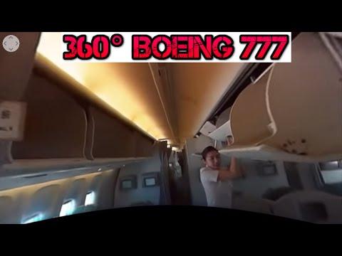360 Degree Video Disembarking Korean air Boeing 777