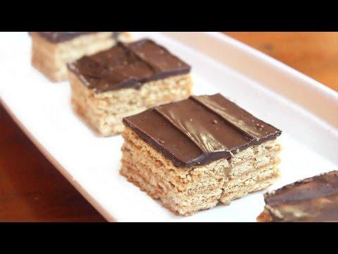 Triple Layer Graham Cracker Toffee Bars   SweetTreats