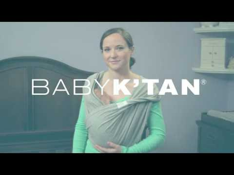 Baby K'tan Kangaroo Position Instructions