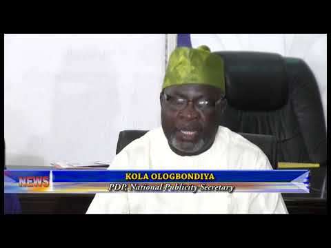PDP PASSES VOTE OF NO CONFIDENCE ON INEC CHAIRMAN YAKUBU, CALLS FOR HIS RESIGNATION