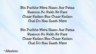 Gambar cover Chaar Kadam (Movie: PK) - Lyrics