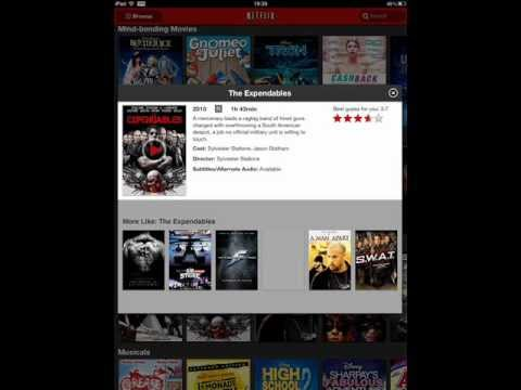 Netflix Closes On Ipad