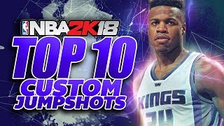 NBA 2K18 BEST CUSTOM JUMPSHOTS FOR ANY ARCHETYPE!!!