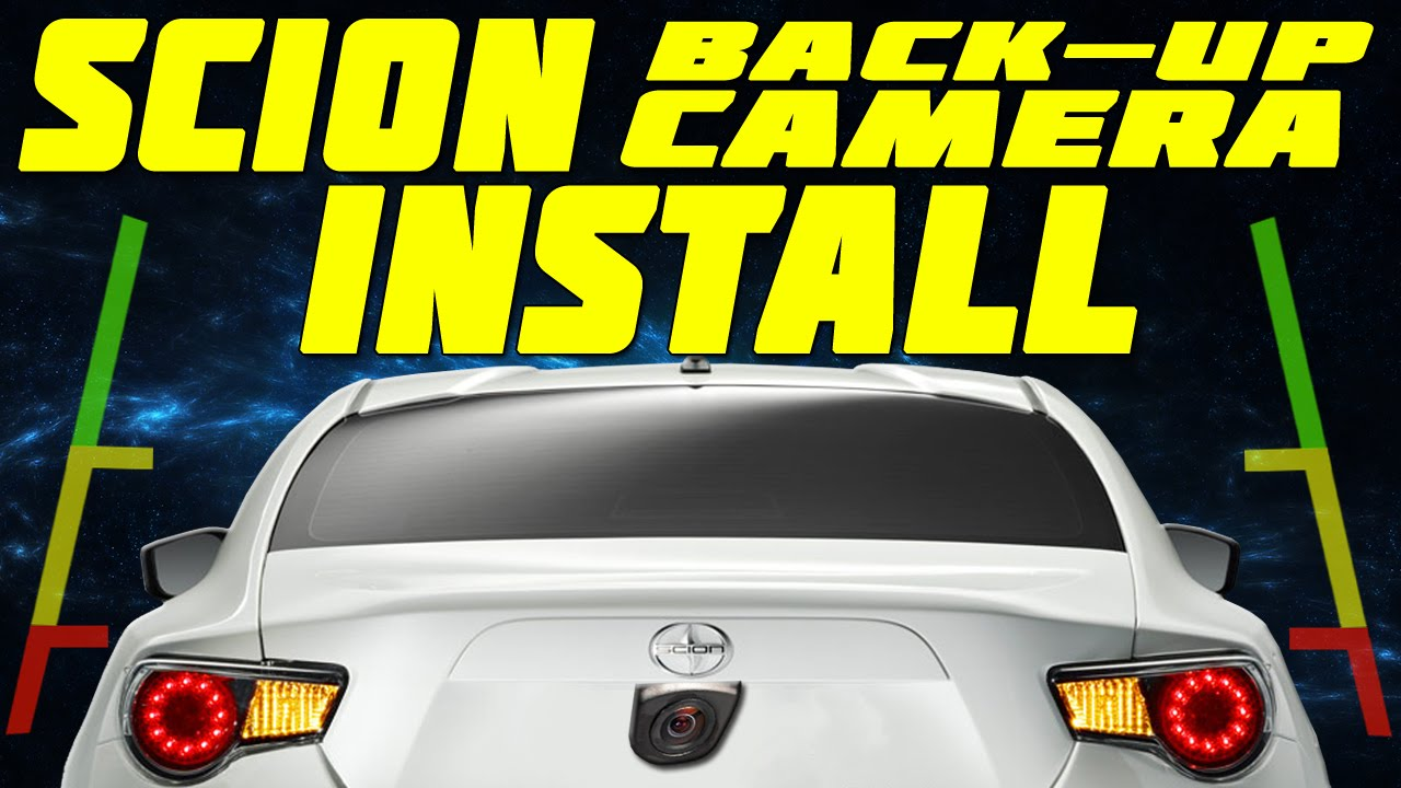 Toyota 86 Reverse Camera Wiring Diagram Libraries Scion Frs Back Up Install Youtubetoyota 16