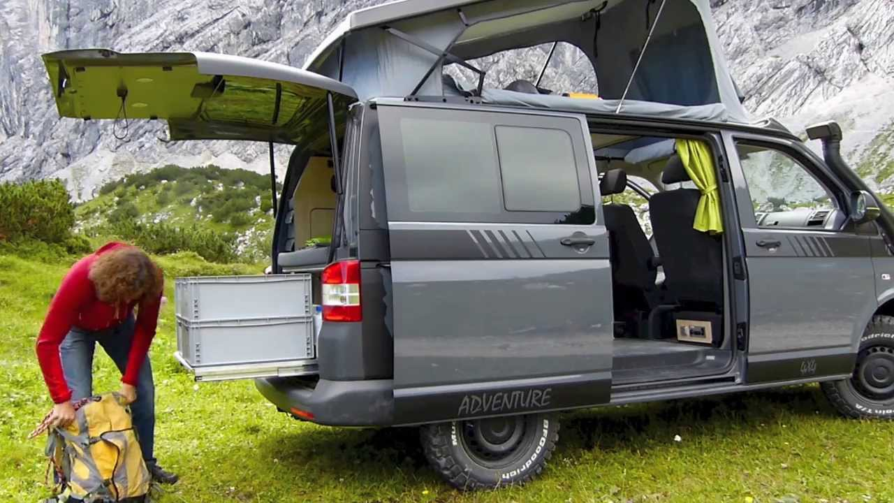 extrem kletterer stefan glowacz trifft multicamper adventure vw t5 campingbus youtube. Black Bedroom Furniture Sets. Home Design Ideas