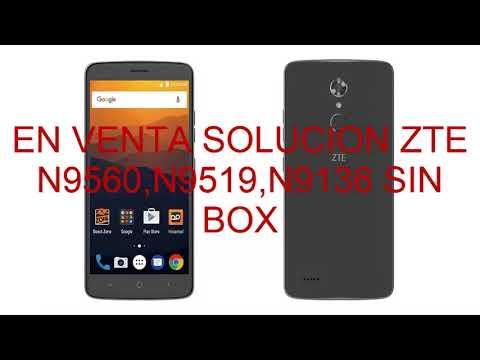 N9136 Unlock Box N9519 N9560 2018 Zte Sin Solucion