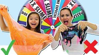 DESAFIO DA ROLETA MISTERIOSA!!! MISTURANDO TODO MEU SLIME!!! (Mystery wheel of slime challenge!) thumbnail