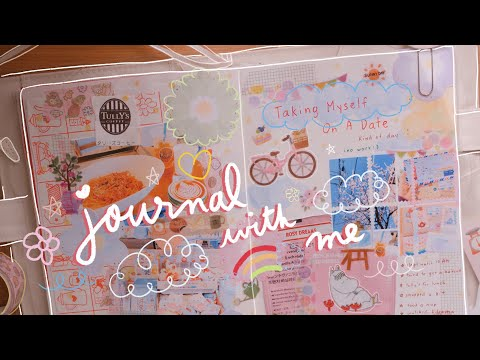 Real Time Journal With Me | Kawaii Journaling Love Challenge Prompts 💖| Rainbowholic