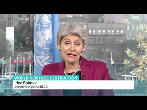 TRT World: Director Gen. of UNESCO Irina Bokova talks about world heritage destruction