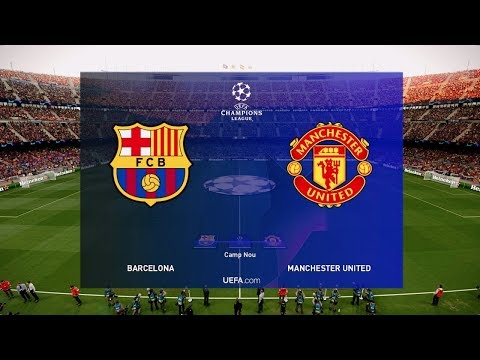 Barcelona vs Manchester United (2nd Leg) Champions League 2019 Gameplay