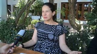 """Arcelia Ramírez promociona """"Verónica"""""""