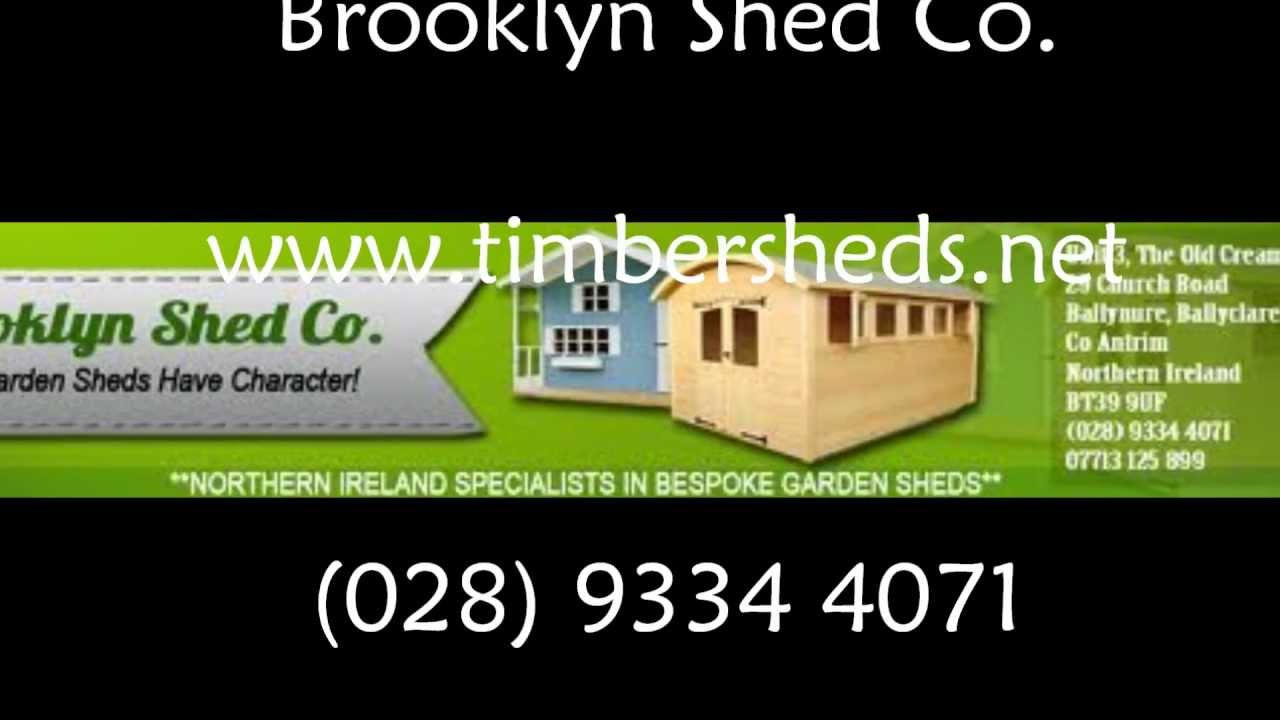 Garden Sheds Ni brooklyn shed co - garden sheds northern ireland - playhouses