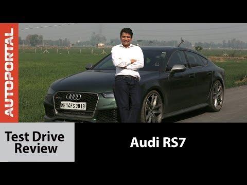 Audi RS7 Test Drive Review - Autoportal