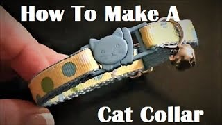 How to Make a Cat Collar