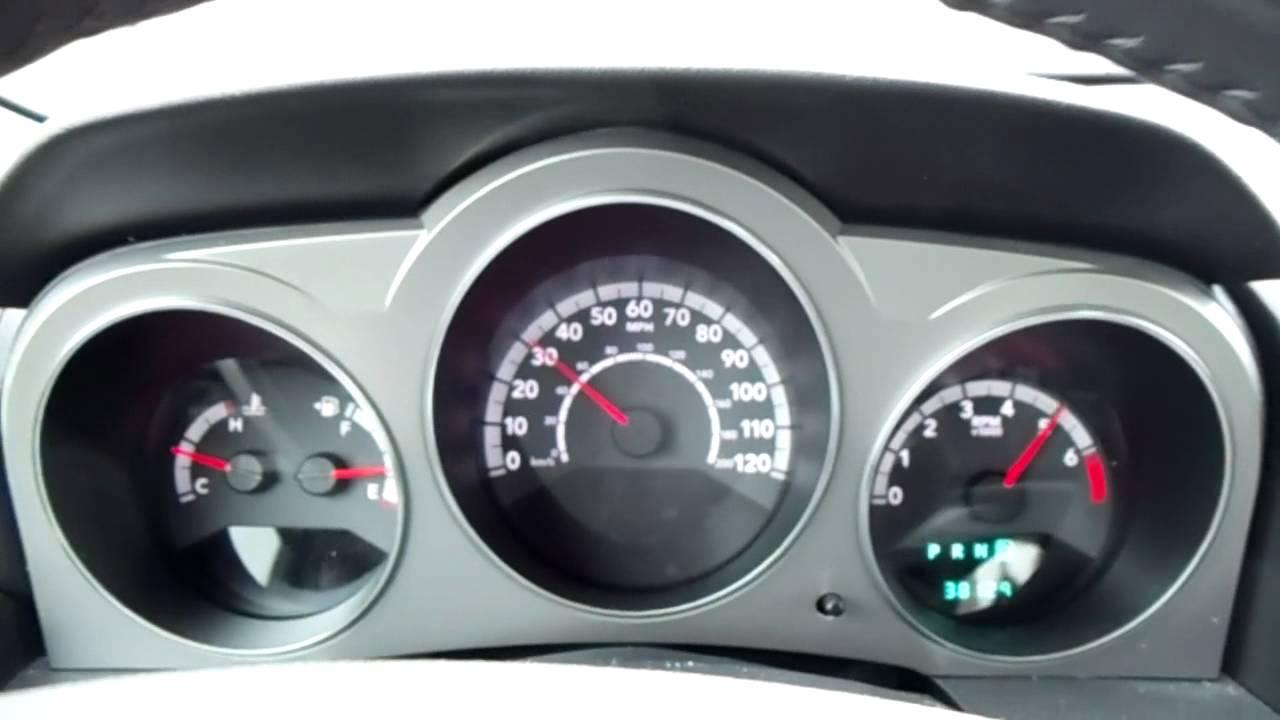 2010 Dodge Avenger RT 0-60 MPH - YouTube
