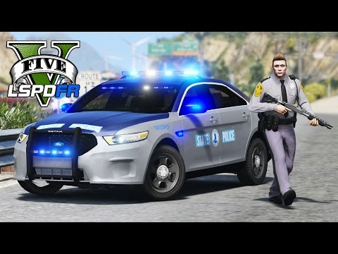 GTA 5 - LSPDFR Ep126 - Virginia State Police Shootout!!