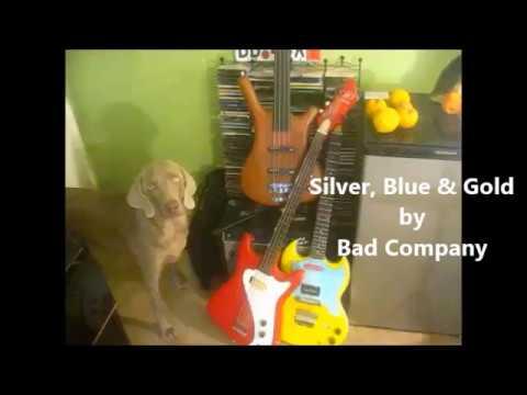Silver, Blue and Gold ~ lesson (+solo)  Bad Company