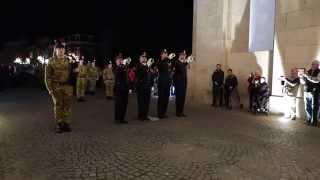 The Last Post Ieper / Ypres - Menenpoort / Menin Gate 18 okt/oct 2015.
