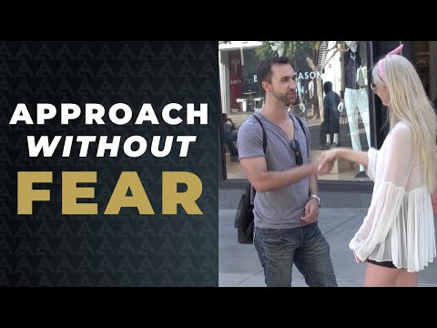 How to CRUSH your FEAR of APPROACHING WOMEN! (3 Ways to Eliminate Approach Anxiety)