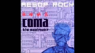 Aesop Rock - Coma (Instrumental)