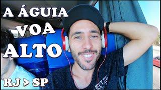 Voando de ÔNIBUS no G7 DD ÁGUIA BRANCA do Rio de Janeiro para São Paulo | Como é Viajar de ônibus?