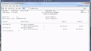 Dynamics GP 2013 Prepayments for Purchase Orders Video.wmv
