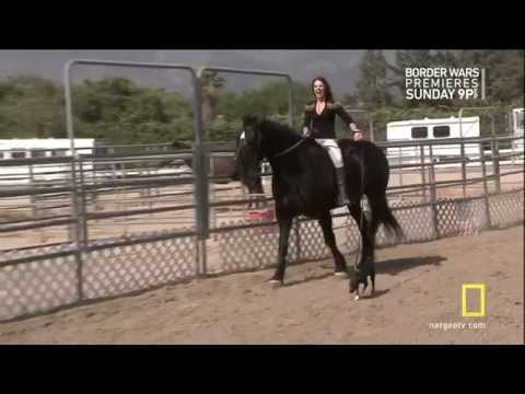 Jillian Michaels dressed for riding