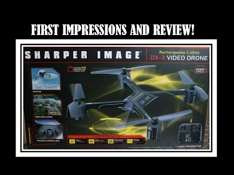 Sharper Image Dx 3 Drone Review Youtube