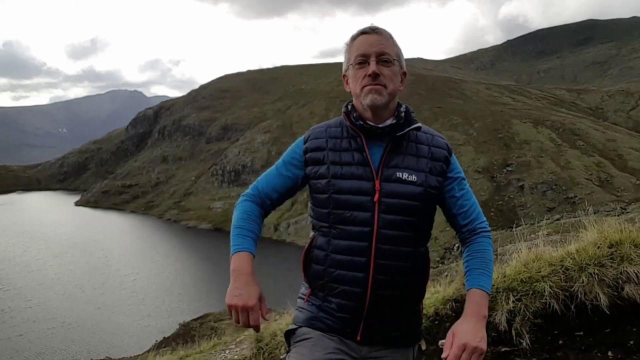 Rab Men S Microlight Hydrophobic Down Vest Review Youtube