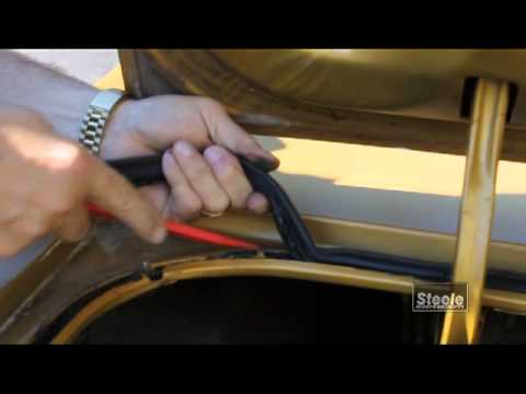 How to remove and replace trunk auto weatherstripping  YouTube