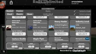 Playing Rails Unlimited (ROBLOX) #1