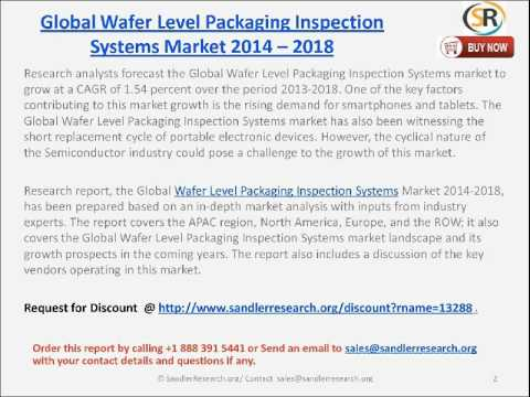 Global Wafer Level Packaging Inspection Systems  2014 -- 2018