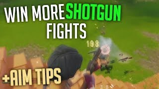 IMPROVE YOUR SHOTGUN AIM WIN MORE SHOTGUN 1v1's - Fortnite Batte Royale