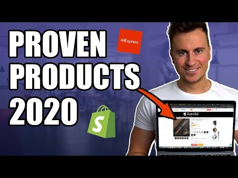How To Find PROVEN Products To Dropship In 2020 (Shopify Product Research Tutorial) thumbnail
