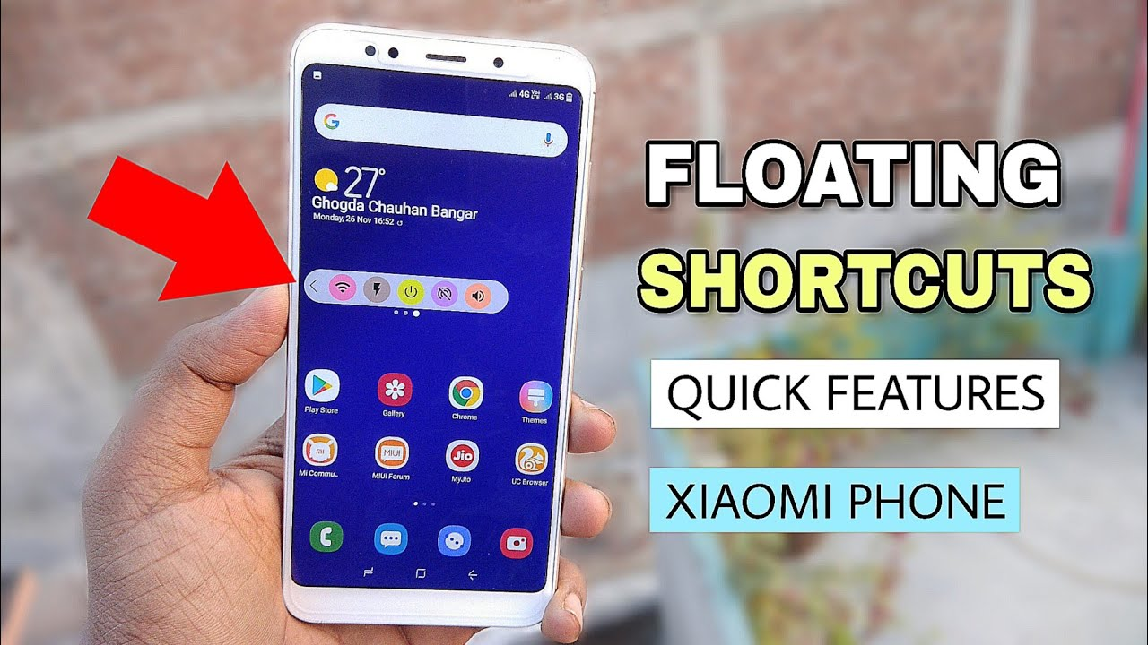 How To Enable Floating Shortcuts | Quick Features on Any Xiaomi Phone by  Tech AJ