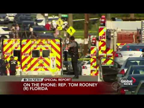 Congressman Tom Rooney describes scene following shooting at baseball practice