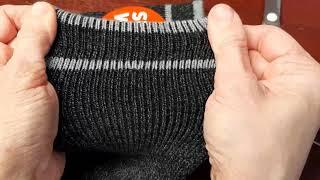 Как убрать ЗАТЯЖКУ с колготок, носков, свитера, варежек  БЕЗ крючка, только иголкой и ниткой