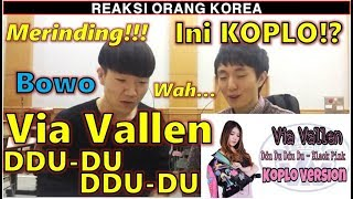 Download lagu REAKSI COWOK KOREA dengar Via Vallen Ddu Du Ddu Du MP3