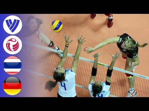 Thailand vs. Germany - Full Match | Women's Volleyball World Grand Prix 2016