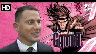 Channing Tatum: His Marvel Gambit Movie will be like Deadpool and Logan