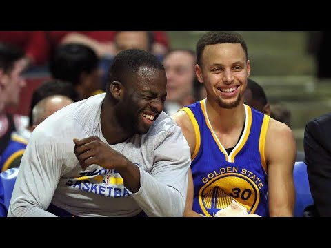 2017-18 Golden State Warriors Funny Moments Part 1