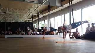 Festiwal naZdrowie - air yoga